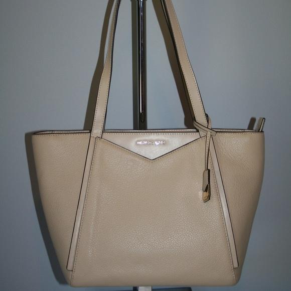 9f96b5e196d8 Michael Kors Bags   Whitney Small Top Zip Oat Tote   Poshmark